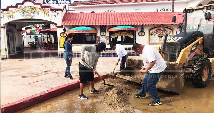 No se detienen los trabajos de rehabilitación en calles de CSL