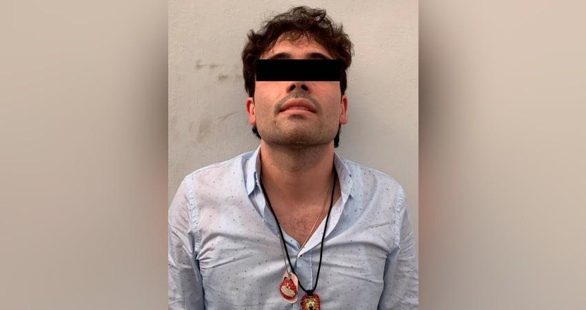 """Crimen organizado arrebata al hijo de """"El Chapo"""" a la Guardia Nacional y Ejercito Mexicano"""