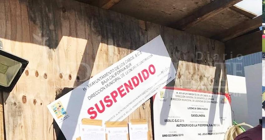 Suspenden licencia a gasolinera que operaba frente a jardín de niños
