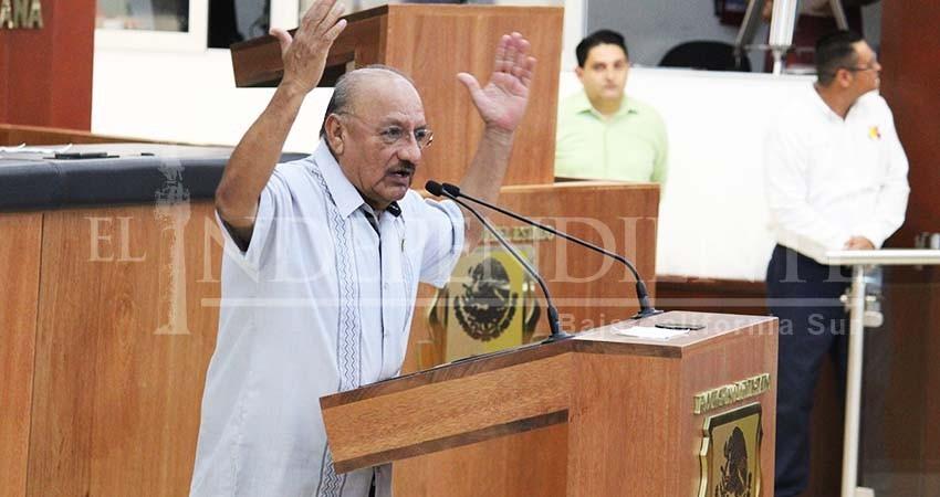 """Rechazamos informe """"elitista"""" de Carlos Mendoza Davis: Morena"""