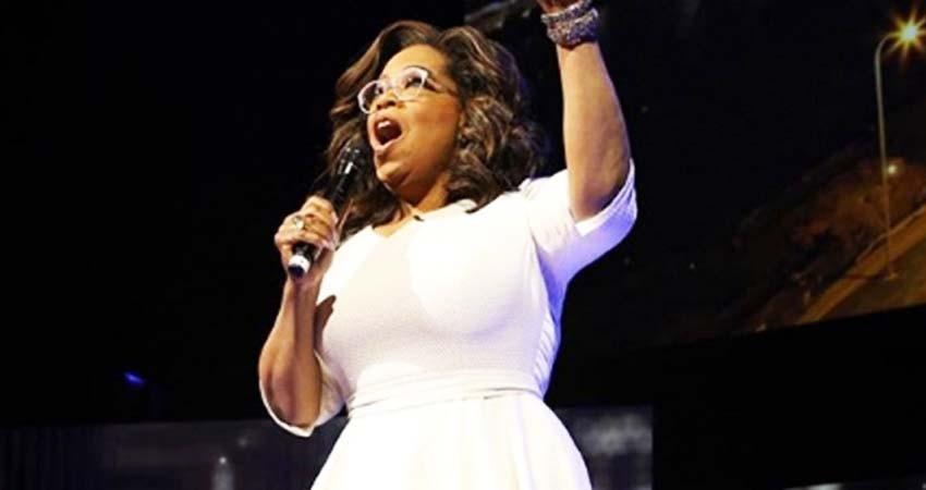 Oprah se va de gira con Michelle Obama, Lady Gaga y The Rock