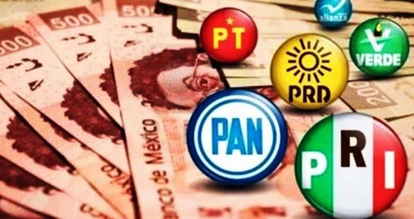 Rechazan PAN, PRI, PVEM, PT y MC recorte del 50% a sus partidos