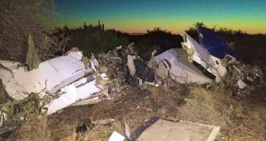 En su último contacto fue donde se estrelló la aeronave de Calafia Airlines