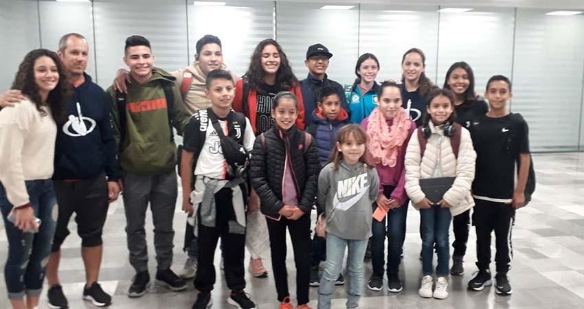 Llegan a Tijuana clavadistas Sudcalifornianos para entrenamientos