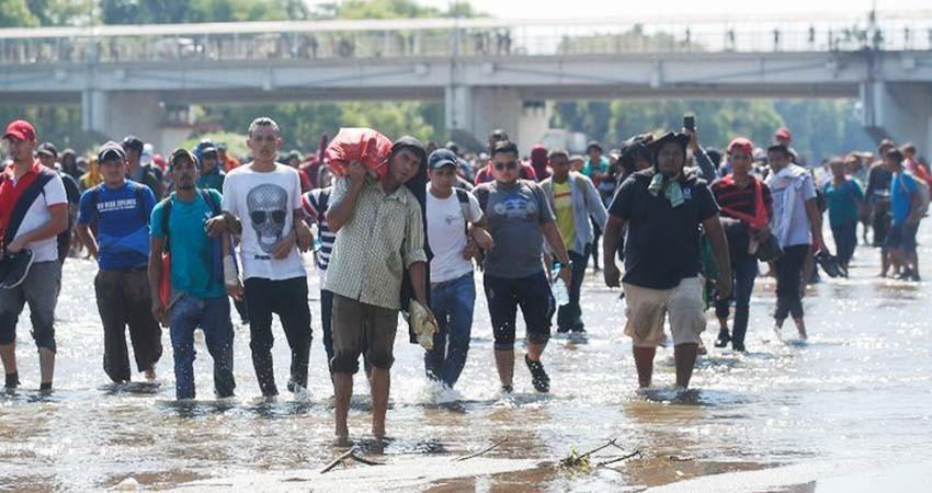 Asegura AMLO que hay protección a los migrantes