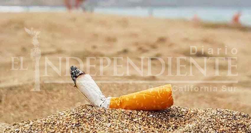 Científicos sudcalifornianos inician campaña contra las colillas de cigarro