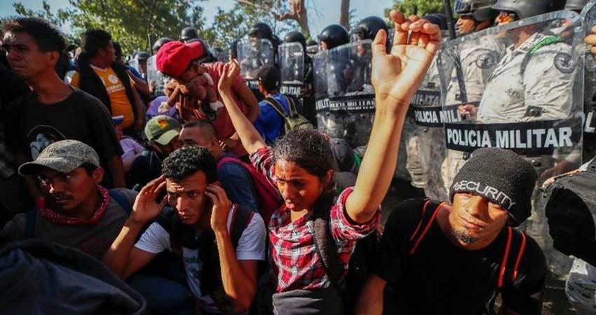 Defiende AMLO el actuar de la GN con los migrantes