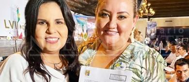 """Asegura alcaldesa que su """"papelito"""" pidiendo soluciones al tema del agua dio resultado"""
