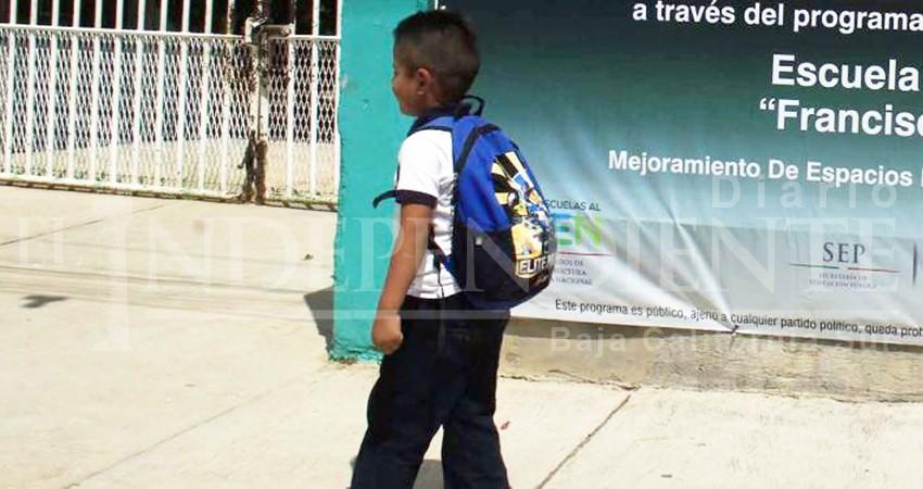 Menores que no pasen por ellos en tiempo a sus escuelas, se remitirán a DIF, advierte SEP