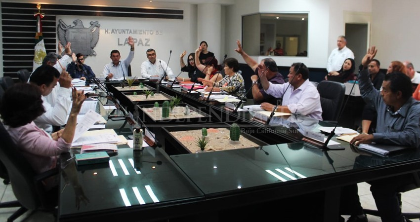Cabildo de La Paz aprobó crédito de 118 MDP para el municipio por coronavirus