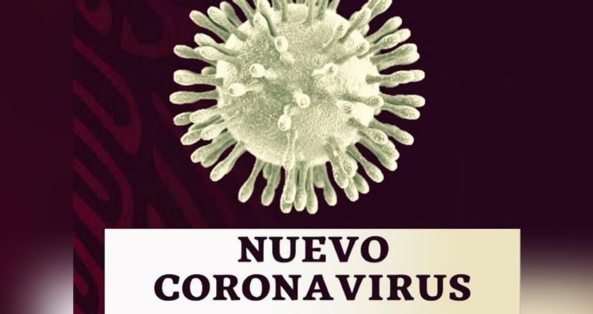 Suman 712 muertos y 8,772 contagios de coronavirus en México