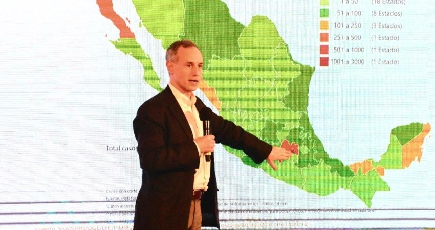 Ya son 970 muertes y 10,544 casos confirmados en México