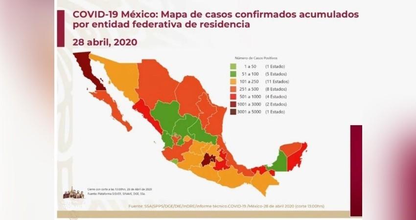 México suma 1,569 muertes y 16,752 casos confirmados de COVID-19