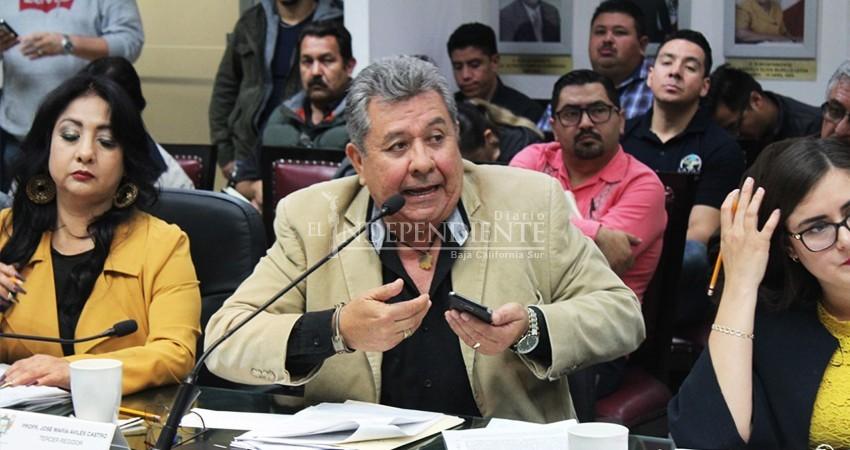 Ayuntamiento de La Paz debe ver por interés público, no de una empresa: Avilés Castro