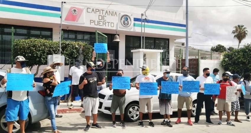 ¡Quieren trabajar!... Comunidad náutica pide apertura de actividades en CSL