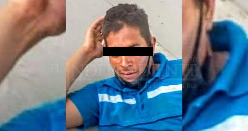 """""""In fraganti"""" detienen a ladrón de escuelas en CSL"""