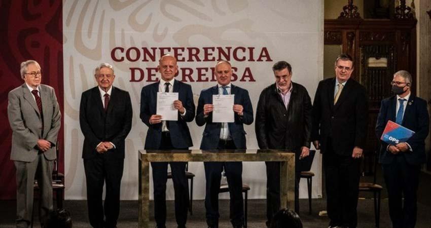 Firma México convenio para adquirir claves de medicinas