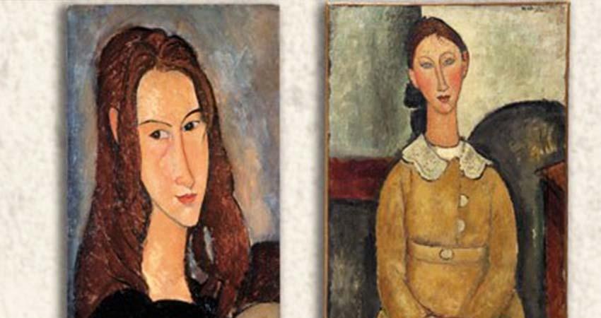 Amedeo Modigliani en el Palacio de Bellas Artes