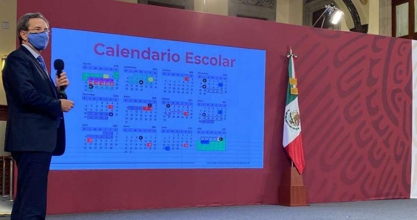 Presenta SEP calendario escolar 2020-2021; habrá vacaciones y 190 días de clases