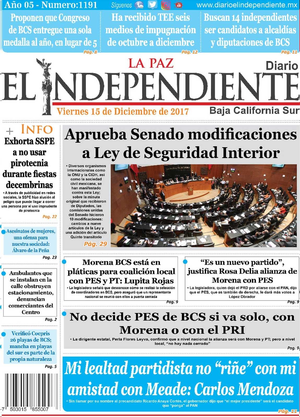 Diario El Independiente La Paz
