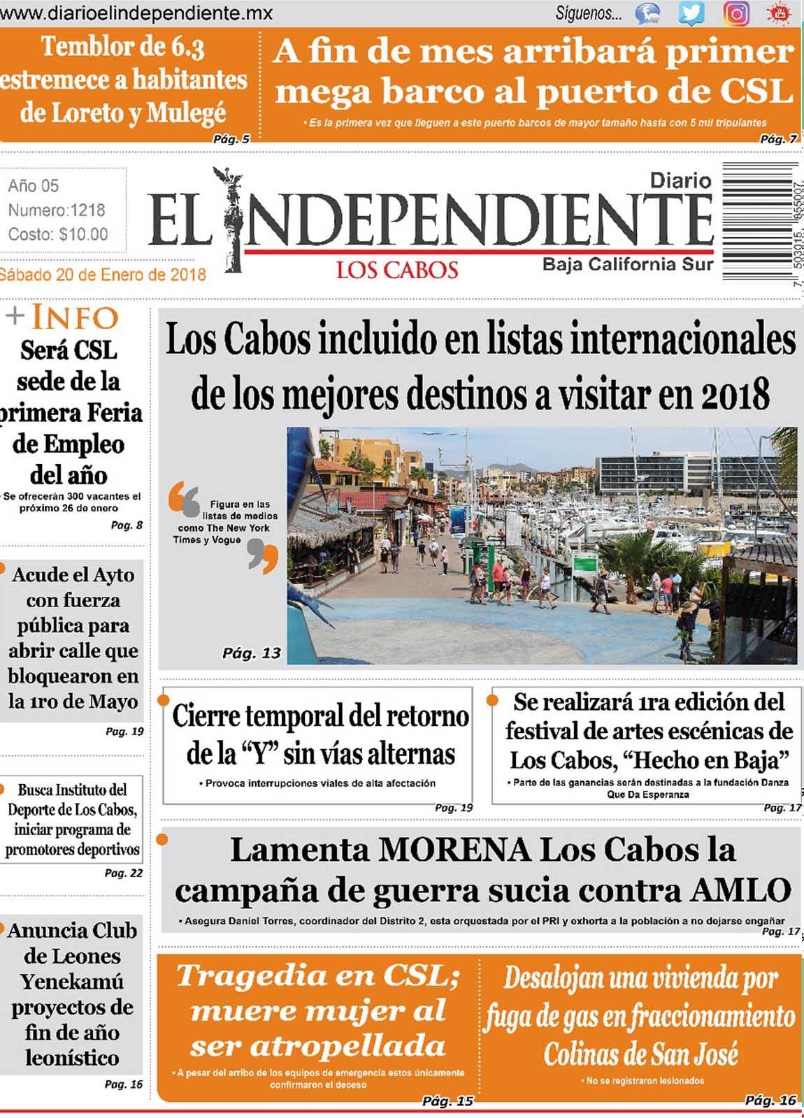 Diario El Independiente Los Cabos