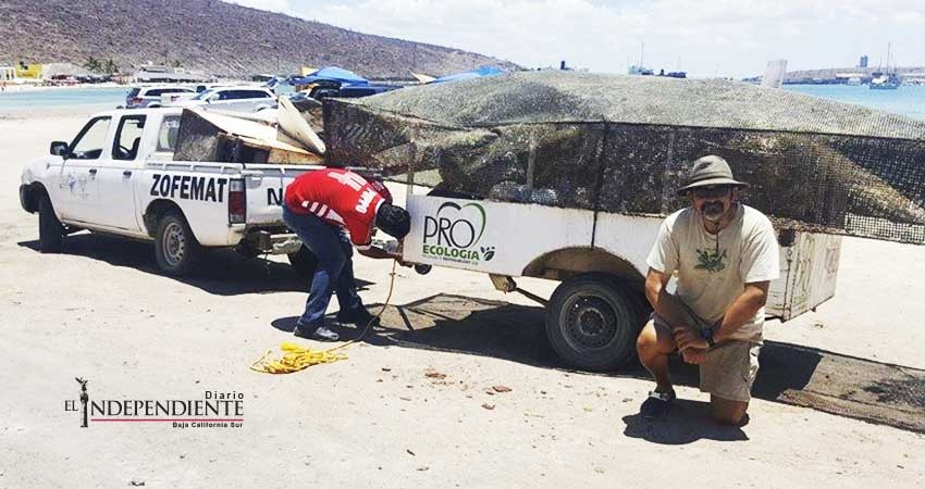 Voluntarios han retirado 36 toneladas de basura submarina en La Paz