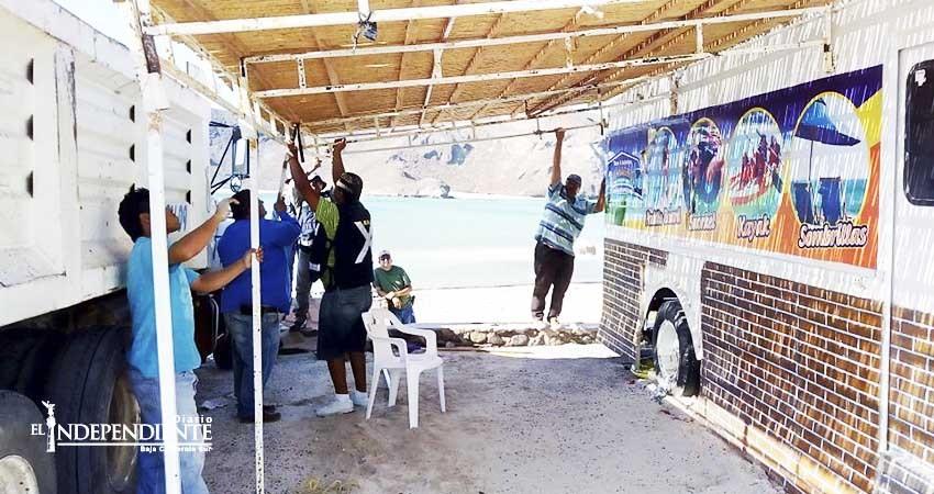 Retiran a vendedores ambulantes de playa Balandra