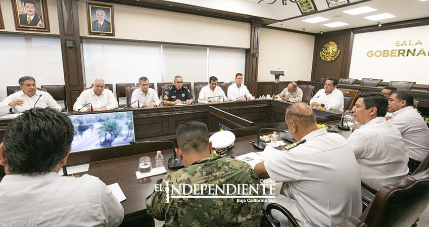 Harán reajustes en el despliegue de fuerzas policiacas en BCS