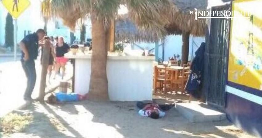 Asesinan a otros 3 sujetos aen una marisquería de SJC