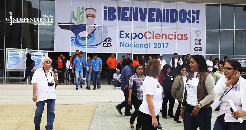 Con 470 proyectos nacionales y extranjeros, inauguran ExpoCiencias Nacional 2017