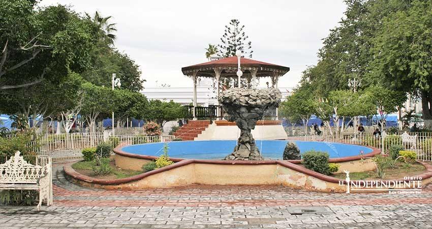 En franco deterioro el histórico Jardín Velasco y el kiosco del Malecón
