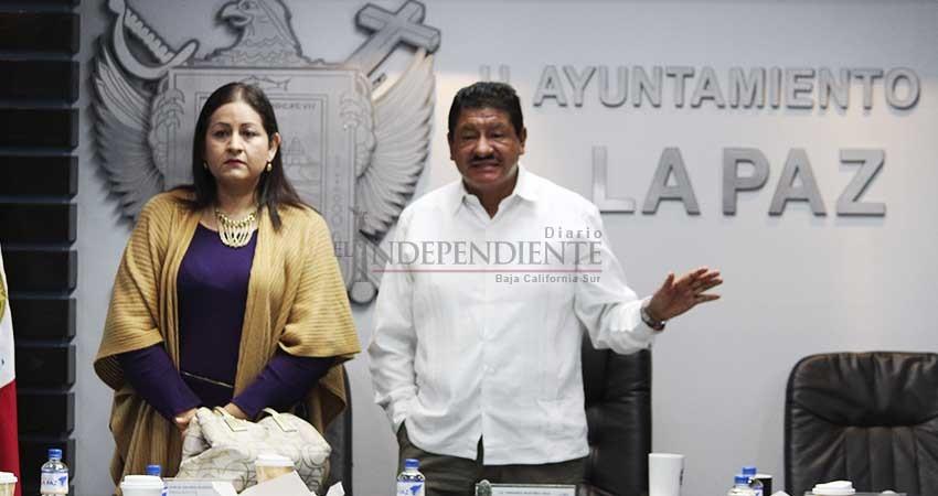 Anuncia Alcalde de La Paz instalación de más de 2 mil nuevas luminarias