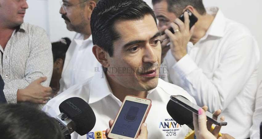 Anaya exhibió la propuesta de impunidad de AMLO en el debate: PAN