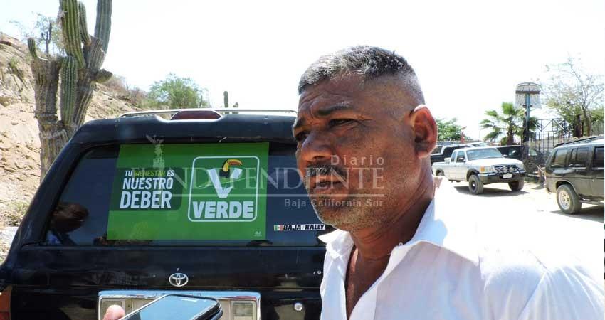 Luchadores sociales se suman al proyecto de candidato a la alcaldía de Los Cabos por el PVEM