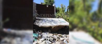 """Las autoridades nos tienen """"abandonados"""", expone vecina de San José Viejo"""