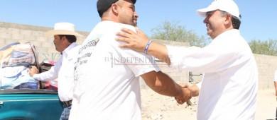 Vamos a trabajar en apoyo al empleo y mejora de infraestructura en  las colonias de La Paz: Pelayo Covarrubias