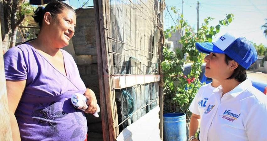 El agua como primera necesidad de nuestro Distrito VIII: Michelle Valdez