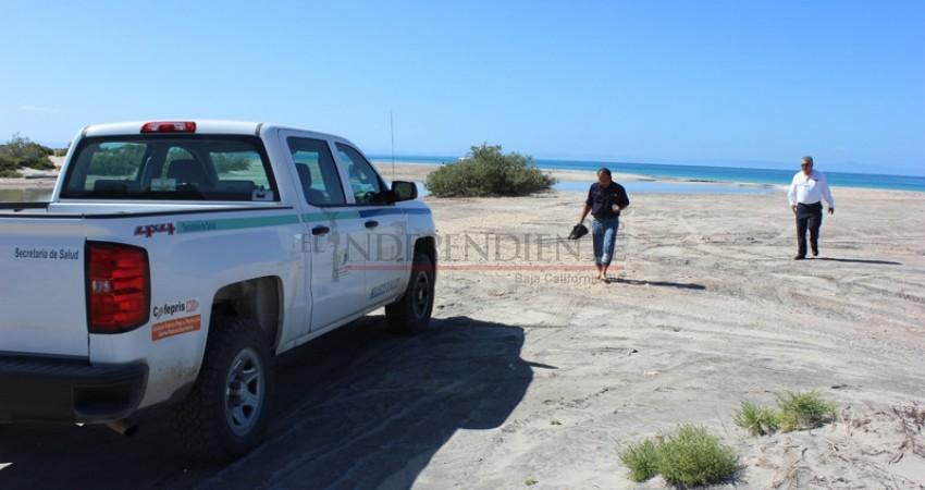 Analizan aguas de playa El Tecolote por supuestas heces fecales