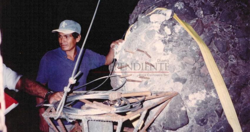 """A 24 años de la primera restauración del """"hongo"""" de Balandra"""