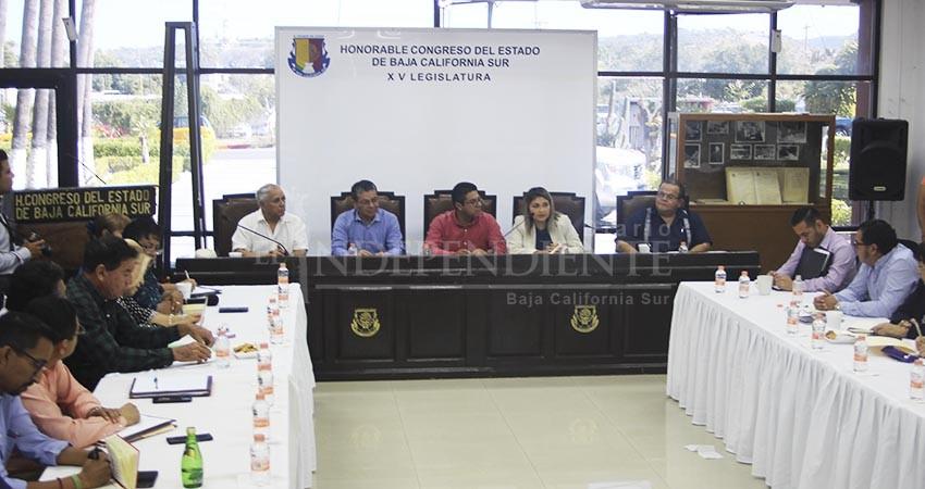 Recibe Congreso de BCS propuestas en desarrollo territorial y asentamientos humanos