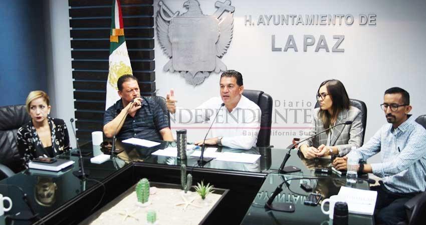 Anuncian programa de embellecimiento urbano de La Paz