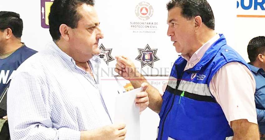 """Coinciden Carlos Mendoza y Rubén Muñoz: """"NAIM es mejor en Texcoco"""""""
