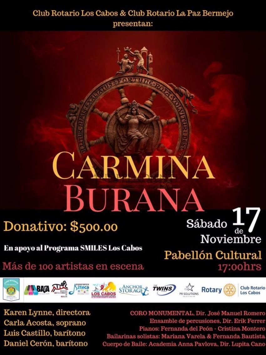Carmina Burana se presentará por primera vez en BCS