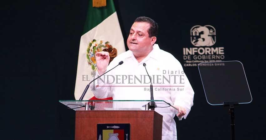 Fueron  PAN y PRI  quienes dejaron  a BCS fuera de la zona fronteriza: Víctor Castro