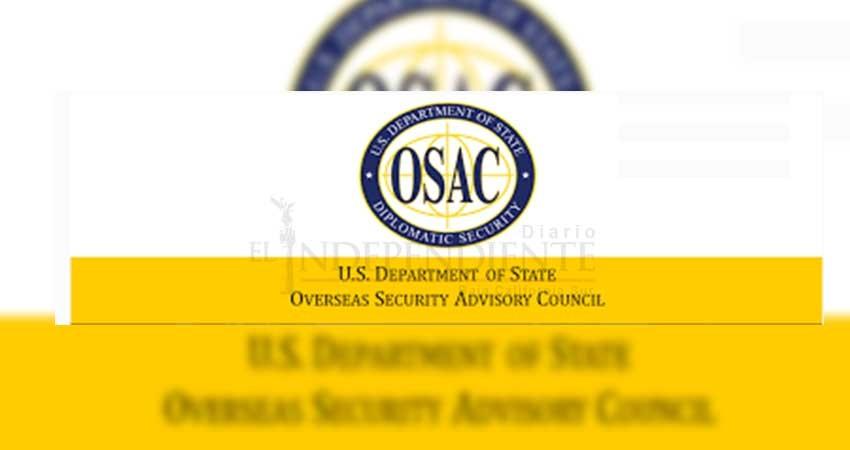 Agencia OSAC de los Estados Unidos, certificará Hoteles de Los Cabos en seguridad