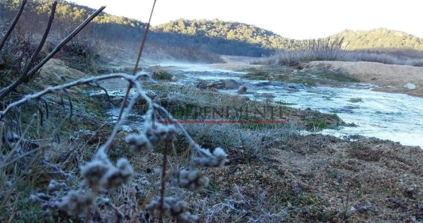 Reportan temperaturas bajo cero en la Sierra de La Laguna