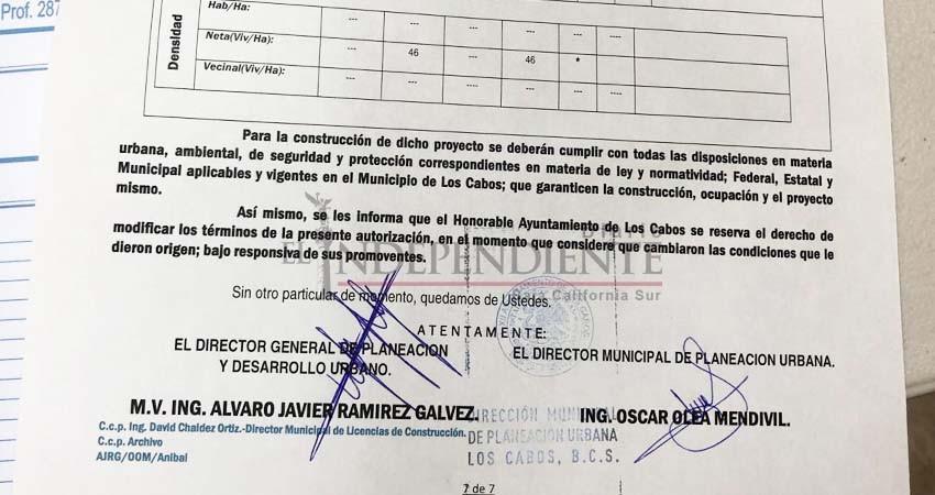 Crece polémica ante supuesta falsificación de firmas para autorización de proyectos que violan el PDU