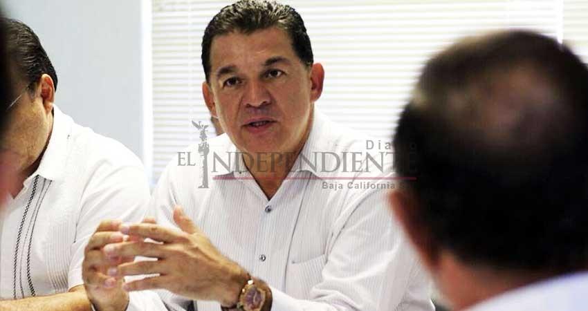 Con AMLO buscaré resolver problemas de agua en La Paz: Rubén Muñoz
