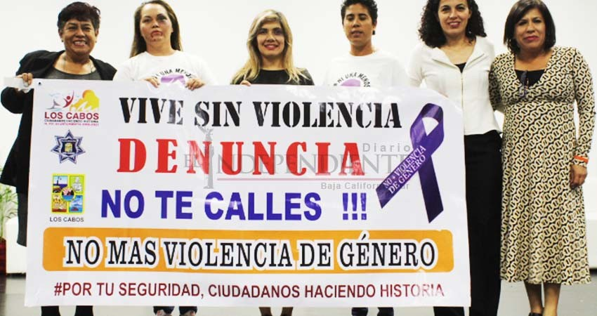 ¡No más violencia contra las mujeres!, gritan al unísono los cabeños