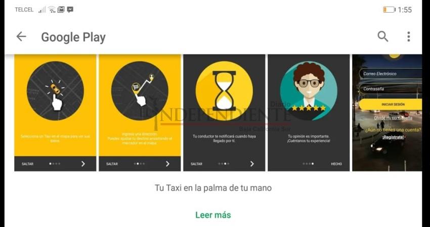 """Taxistas de CSL presentan aplicación para dispositivos móviles: """"Beel Taxi"""""""
